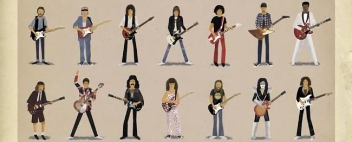 35人のギター・ヒーロー