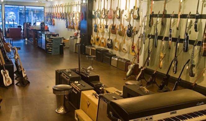 Brooklyn(NYC)のギターショップ・レコード店めぐり