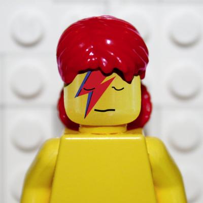 レゴでデヴィッド・ボウイ