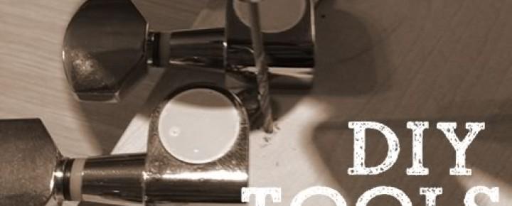 [DIY]あると便利なギター組み立て工具4点