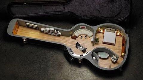 ギターケースに住みたい