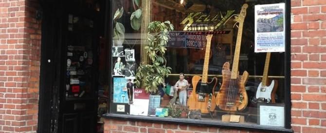 Kelly Guitars オリジナルストラップがかっこいい!