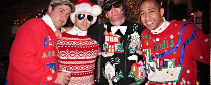 Ugly Christmas Sweater ダサいセーターでクリスマスを盛り上げよう!?